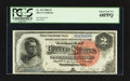 Large Size:Silver Certificates, Fr. 242 $2 1886 Silver Certificate PCGS Superb Gem New 68PPQ.. ...