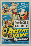 "Movie Posters:Adventure, The Desert Hawk (Universal International, 1950). One Sheet (27"" X41""). Adventure.. ..."