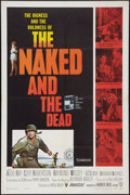 "Movie Posters:War, The Naked and The Dead Lot (Warner Brothers/RKO, 1958). One Sheets(2) (27"" X 41""). War.. ... (Total: 2 Items)"