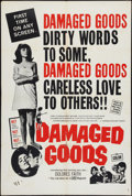 "Movie Posters:Exploitation, Damaged Goods: A Story of Kids in Trouble (Sidney DavisProductions, 1963). One Sheet (28"" X 42"") Alternate Style.Exploitat..."