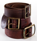 Movie/TV Memorabilia:Memorabilia, Three Western Belts, 1950s-1970s.. ... (Total: 3 Items)