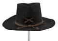 "Movie/TV Memorabilia:Costumes, A Cavalry Hat from ""The Horse Soldiers,"" ""Circus World,"" ""TheUndefeated,"" and Rio Lobo.""..."