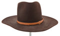 "Movie/TV Memorabilia:Costumes, A Nudie's Cowboy Hat from ""Cahill U.S. Marshall.""..."