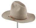 "Movie/TV Memorabilia:Costumes, A Stetson Cowboy Hat from ""The Man Who Shot Liberty Valance."" ..."