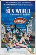 "Movie Posters:Adult, SexWorld (CFP, 1978). One Sheet (25"" X 38""). Adult.. ..."