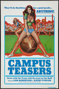 "Movie Posters:Sexploitation, Campus Teasers (SRC Films, 1970). One Sheet (27"" X 41"").Sexploitation.. ..."