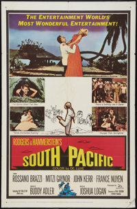 "South Pacific (20th Century Fox, 1959). One Sheet (27"" X 41""). Musical"