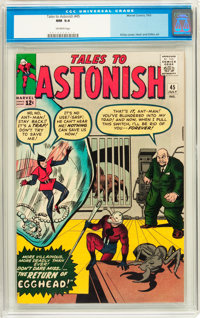 Tales to Astonish #45 (Marvel, 1963) CGC NM 9.4 Off-white pages