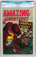 Silver Age (1956-1969):Horror, Amazing Adventures #3 (Marvel, 1961) CGC VG/FN 5.0 Off-whitepages....