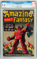 Silver Age (1956-1969):Science Fiction, Amazing Adult Fantasy #9 (Marvel, 1962) CGC FN/VF 7.0 Cream tooff-white pages....