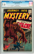 Golden Age (1938-1955):Horror, Journey Into Mystery #72 (Marvel, 1961) CGC FN/VF 7.0 Off-whitepages....