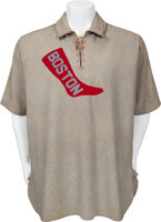 "Featured item image of 1908 Denton T. ""Cy"" Young Game Worn Boston Red Sox Uniform...."