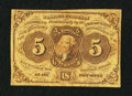 Fractional Currency:First Issue, Fr. 1230 5¢ First Issue Fine.. ...