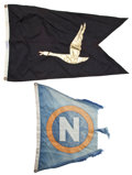 Movie/TV Memorabilia:Memorabilia, Three Flags from the 'Wild Goose,' 1960s-1970s.... (Total: 3 )