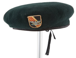 "Featured item image of A beret from ""The Green Berets.""..."