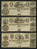Obsoletes By State:Ohio, Franklin, OH- Franklin Silk Company $1; $2; $3. ... (Total: 3notes)