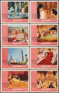 "Cleopatra (20th Century Fox, 1963). Lobby Card Set of 8 (11"" X 14""). Historical Drama. ... (Total: 8 Items)"