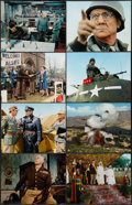 """Movie Posters:War, Patton (20th Century Fox, 1970). Deluxe Lobby Card Set of 14 (11"""" X14""""). War.. ... (Total: 14 Items)"""