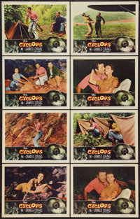 """The Cyclops (RKO, 1957). Lobby Card Set of 8 (11"""" X 14""""). Horror. ... (Total: 8 Items)"""