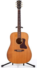 Musical Instruments:Acoustic Guitars, 1994 Gibson Gospel 100th Anniversary Natural Acoustic Guitar#91674011....