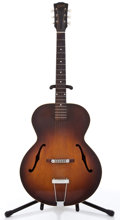 Musical Instruments:Acoustic Guitars, 1940's Gibson L-30 Sunburst Archtop Acoustic Project Guitar #N/A....