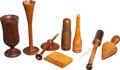 Military & Patriotic:Civil War, Interesting Group of Civil War Period and Earlier Wooden Medical Instruments...