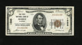 National Bank Notes:Alabama, Mobile, AL - $5 1929 Ty. 1 The First NB Ch. # 1595. The folds are light and concentrated near the portrait. This note ca...