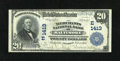National Bank Notes:Maryland, Baltimore, MD - $20 1902 Plain Back Fr. 658 The Merchants NB Ch. #(E)1413. This bank issued large size under no less th...