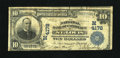 National Bank Notes:Missouri, Saint Louis, MO - $10 1902 Plain Back Fr. 627 The NB of CommerceCh. # (M)4178. The trim is somewhat askew on this St. L...