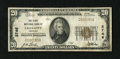 National Bank Notes:Nebraska, Falls City, NE - $20 1929 Ty. 1 The First NB Ch. # 2746. This was the only issuer located here and printed just 321 shee...