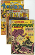 Silver Age (1956-1969):Miscellaneous, Showcase Group (DC, 1961-64).... (Total: 8 Comic Books)