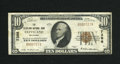 National Bank Notes:Oklahoma, Cleveland, OK - $10 1929 Ty. 1 The Cleveland NB Ch. # 7386. The Kelly reference lists this bank at 15 small and that inc...