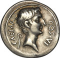 Ancients:Roman Republic, Ancients: Octavian as sole Imperator (30-27 BC). AR denarius (3.86 gm). . ...