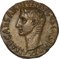 Ancients:Roman Imperial, Ancients: Augustus (27 BC-AD 14). AE as (10.50 gm). ...