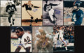 Football Collectibles:Photos, Football Hall of Famers Signed Photographs lot of 7....