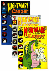Casper and Nightmare File Copies Group (Harvey, 1964-74) Condition: Average NM-.... (Total: 78 Comic Books)