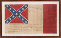 Military & Patriotic:Civil War, Historic UCV Flag Patterned After the Confederate Third National Flag....