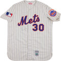 """Baseball Collectibles:Uniforms, Nolan Ryan Signed """"Mitchell & Ness"""" Flannel Jersey...."""