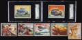 """Non-Sport Cards:Sets, 1950-51 R709-2 Topps """"Freedom's War"""" First Series (97) With TwoScarce Tank cards...."""