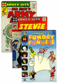 Silver Age (1956-1969):Miscellaneous, Harvey Hits File Copies Group (Harvey, 1958-67) Condition: Average VF/NM....