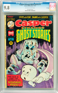 Casper Strange Ghost Stories #1 File Copy (Harvey, 1974) CGC NM/MT 9.8 Off-white to white pages