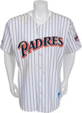 Baseball Collectibles:Uniforms, 1997 Tony Gwynn Hit #2753 Game Worn San Diego Padres Jersey....