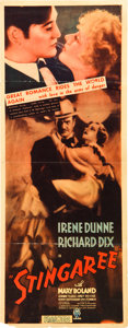 "Movie Posters:Drama, Stingaree (RKO, 1934). Insert (14"" X 36"").. ..."