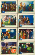 """Movie Posters:Science Fiction, The Man from Planet X (United Artists, 1951). Lobby Card Set of 8(11"""" X 14"""").. ... (Total: 8 Items)"""