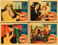 "Movie Posters:Crime, Marked Woman (Warner Brothers, 1937). Lobby Cards (4) (11"" X 14"")..... (Total: 4 Items)"