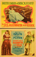 "Movie Posters:Drama, The Private Lives of Elizabeth and Essex (Warner Brothers, 1939).Title Lobby Card and Lobby Card (11"" X 14"").. ... (Total: 2 Items)"