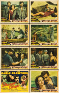 "Movie Posters:Drama, Strange Cargo (MGM, 1940). Lobby Card Set of 8 (11"" X 14"").. ...(Total: 8 Items)"