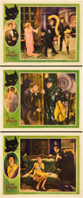 "Movie Posters:Mystery, The Cat Creeps (Universal, 1930). Lobby Cards (3) (11"" X 14"").. ...(Total: 3 Item)"