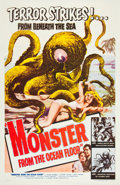 """Movie Posters:Science Fiction, Monster from the Ocean Floor (Lippert, 1954). One Sheet (27"""" X 41""""). Science Fiction.. ..."""