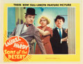 """Movie Posters:Comedy, Sons of the Desert (MGM, 1933). Lobby Card (11"""" X 14"""").. ..."""